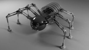 robot Spider by saryking