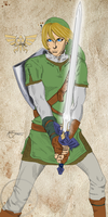 Link - The Hero of Time by alijamZz