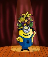 Despicable me minion by IDROIDMONKEY