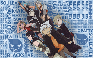 Soul Eater Wallpaper by PulseShadows
