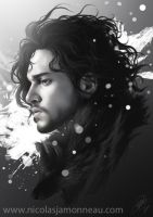 Jon Snow by Nicojam