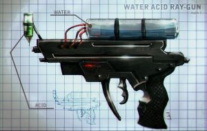Water Acid Ray Gun - W.A.R.G by Molte1234