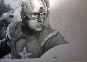 captain and hawkeye in process by otoimai
