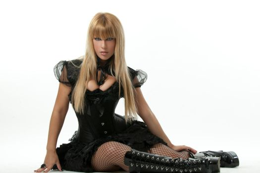 Tanit-Isis Black Outfit IV by tanit-isis-stock