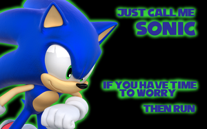 Sonic the Hedgehog Wallpaper by Xbox-DS-Gameboy