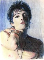 Glamour Boy.Richey.pencil by Bitterkawaii