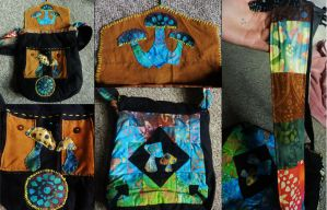 Mushroom Bag by PoisonJARCreations