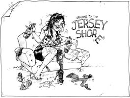 Welcome to the Jersey Shore by RenieDraws