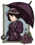 Victorian Lady by Blackmoonrose13