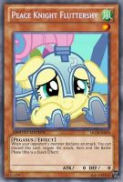 Peace Knight Fluttershy (MLP): Yu-Gi-Oh Card by PopPixieRex