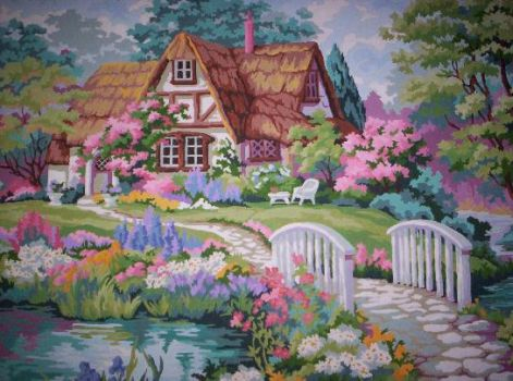 Spring Cottage by koko992001