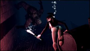 Diving with Lara by Mask1985
