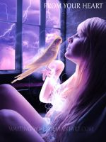 From your Heart :: Photomanipulation by Waiting-Wish