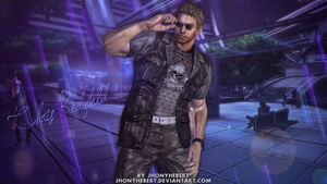 Chris Redfield Stylish by JhonyHebert