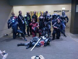 Mass Effect Group by Bored2d