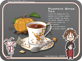 MAGE: Pumpkin Spice Tea by Lo-wah