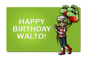 Walto's Birthday Present! by such-a-wally