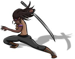 Michonne by PhillieCheesie