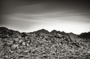 Mound and Mountains by eccentricphotography