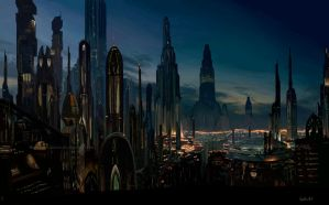 Coruscant by CeciliaGf