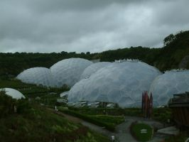Eden Project Trip - Biomes by Destinys-spirits