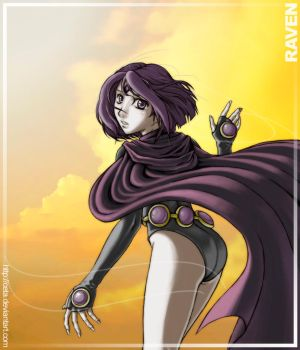 Raven - Amongst the Clouds by ceta