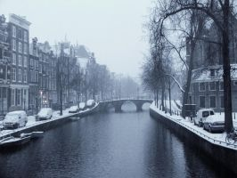 Winter in Amsterdam by slickdj3