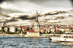 Maiden's Tower by ozgurayhan