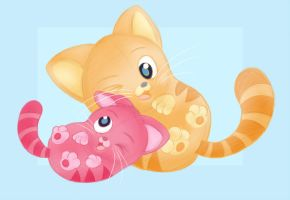 Two Little Kittens by hpuff