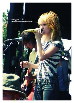 paramore III - warped tour by pprincessbydawn