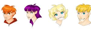 Faces by CuriousCucumber