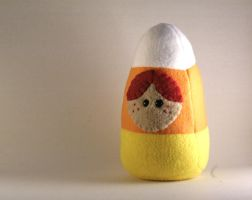 Candy Corn Costume Plushie by Saint-Angel
