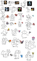 Pokemon from Memory Challenge 2 by BlazeDGO