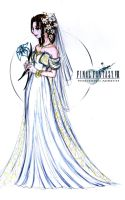 Wedding Aerith design by The-Savage-Nymph