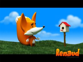 Renaud the Fox by oOpixlOo