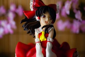 Another look at the Shrine Maiden of Paradise by Miettechan
