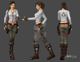 XNA Lara - Assassin's Creed by SeventhLife