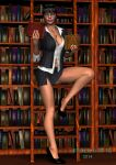 The Librarian by black-kat-3d
