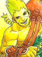 Sketchcard Power Stone Wang Tang Power Charge by fedde