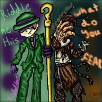 That's one scary riddle by Cino-Checker