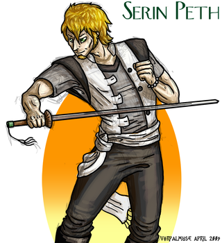 Serin Peth Sketch by AThousandRasps
