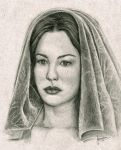 Arwen - Sketch by Esteljf