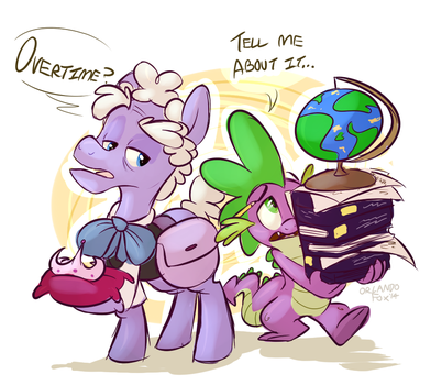 Assistants by TheDoggyGal