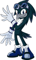 Allen the Raven by Whimsy-Floof