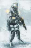 Snow trooper by jocker909