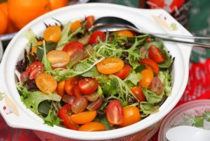 Garden salad by patchow