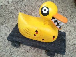 Nightmare Before Christmas Undead Duck by kam3153