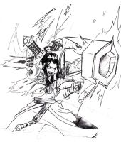 azula's Smack cannon by fall-out