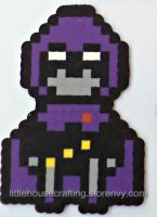 Teen Titans Raven Perler by LittleHouseCrafting