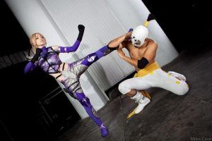 Nina Williams vs El Fuerte by Nebulaluben